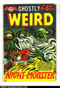 Golden Age (1938-1955):Horror, Ghostly Weird Stories #120 (Star, 1953) Condition: VG+. L. B. Colecover. Jay Disbrow art and Jo-Jo reprints. Overstreet 200...