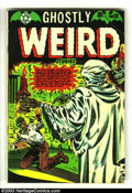 Golden Age (1938-1955):Horror, Ghostly Weird Stories #121 (Star, 1953) Condition: VG. L. B. Cole cover. Jay Disbrow art and Jo-Jo reprints with Kamen-ish a...