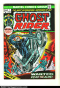 Bronze Age (1970-1979):Horror, Ghost Rider #1 (Marvel, 1973) Condition: FN+. First appearanceDaimon Hellstrom, Son of Satan in cameo. Tom Sutton and Syd S...