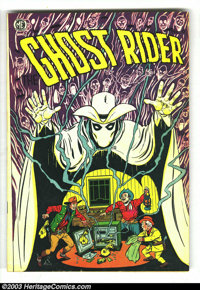 """Ghost Rider #6 (Magazine Enterprises, 1951) Condition: FN. This issue is also known as A-1 #44. It has a """"Loco weed..."""