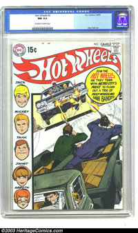 Hot Wheels #3 (DC, 1970) CGC NM 9.4 Off-white to white pages. Neal Adams cover, Alex Toth art. Overstreet 2003 NM 9.4 va...