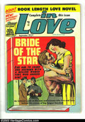 Golden Age (1938-1955):Romance, In Love #1 (Mainline Publications, 1954) Condition: VG+. Booklength love novel. Joe Simon and Jack Kirby art. Overstreet 20...