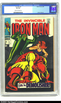 Iron Man #2 (Marvel, 1968) CGC VF 8.0 Cream to off-white pages. Versus the Demolisher. Art by EC veteran Johnny Craig. O...