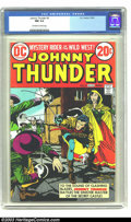 Bronze Age (1970-1979):Western, Johnny Thunder #3 (DC, 1973) CGC NM 9.4 Off-white to white pages. Highest graded copy yet certified by CGC for this issue. O...