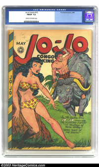 Jo-Jo Comics #15 (Fox Features Syndicate, 1948) CGC FN/VF 7.0 Cream to off-white pages. This issue was cited by Dr. Wert...