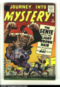 Silver Age (1956-1969):Mystery, Journey into Mystery #76 - 12 Cent Price Variant (Marvel, 1962)Condition: VG-. This is the rare 12 cent price variant where...