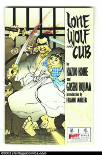 Lone Wolf and Cub #1-20 Group (First Comics, 1987-88) Condition: Average NM+. The first twenty issues of the First Comic...