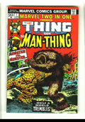 Bronze Age (1970-1979):Superhero, Marvel Two-In-One #1 (Marvel, 1974) Condition: VF+. The Thing vs. the Man-Thing. Gil Kane and Joe Sinnott art. Overstreet 20...