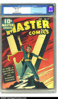 Golden Age (1938-1955):Superhero, Master Comics #27 (Fawcett, 1942) CGC FN+ 6.5 Off-white pages. Mac Raboy cover and art. Overstreet doesn't designate this Ca...