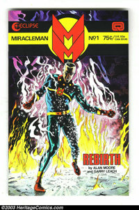 Miracleman Group (Eclipse, 1985-88) Condition: Average NM. Lot consists of 15 books; Miracleman #1-10 and 12-14 (all wit...