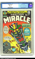 Bronze Age (1970-1979):Superhero, Mister Miracle #1 (DC, 1971) CGC NM+ 9.6 Off-white pages. First appearance of Mister Miracle and Oberon. Jack Kirby cover an...