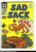 Golden Age (1938-1955):Horror, Sad Sack Comics Group (Harvey, 1955-1961) Condition: Average VG-.This eight-issue lot consists of #45, 88, 98, 100, 106, 11...(Total: 8 Comic Books Item)