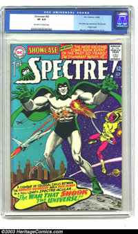 Showcase #60 Spectre (DC, 1966) CGC VF 8.0 Off-white to white pages. First Silver Age appearance of The Spectre. Origin...