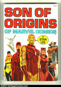 Books:Superhero, Son of Origins 1st print (Simon and Schuster, 1975) Condition:FN/VF. Fireside Publishing reprints of classic stories. John ...