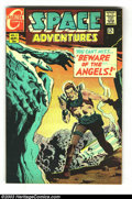Golden Age (1938-1955):Science Fiction, Space Adventures Group (Charlton, 1968-1969) Condition: Average VF.This lot consists of Space Adventures V3#3, 6, and 7... (Total: 3Comic Books Item)