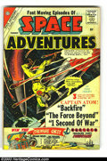 Golden Age (1938-1955):Science Fiction, Space Adventures Group (Charlton, 1960). This lot consists of SpaceAdventures #38, 39, and 41. Captain Atom stories. St... (Total: 3Comic Books Item)