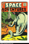 Golden Age (1938-1955):Science Fiction, Space Adventures #25, 34 Group (Charlton, 1952) Condition: AverageGD/VG. Steve Ditko art. Overstreet 2003 value for group =...(Total: 2 Comic Books Item)