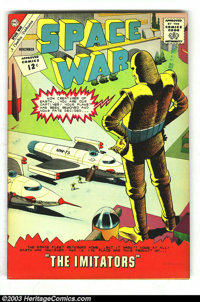 Space War Group (Charlton, 1964) Condition: Average VF-. This lot consists of Space War #19, 24, 26, and 27. Issue #19 h...