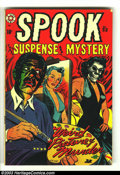 Golden Age (1938-1955):Horror, Spook 23 (Star Publications, 1953) Condition: VG. L. B. Cole cover.Sgt. Spook story. Overstreet 2003 VG 4.0 value = $58....