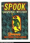 Golden Age (1938-1955):Horror, Spook #25 (Star Publications, 1953) Condition: FN/VF. Great L. B.Cole cover. Jungle Lil reprints inside. Overstreet 2003 FN...