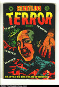 Golden Age (1938-1955):Horror, Startling Terror Tales #14 (Star Publications, 1953) Condition: VG.L. B. Cole cover. Crime stories inside. Overstreet 2003 ...