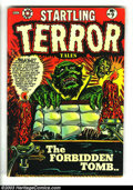 Golden Age (1938-1955):Horror, Startling Terror Tales V2#9 (Star Publications, 1954) Condition: VG/FN. L. B. Cole cover. Horror and crime stories inside. O...
