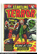 Golden Age (1938-1955):Horror, Startling Terror Tales V2#4 (Star Publications, 1953) Condition:VG+. Absolutely insane L. B. Cole cover. Crime stories ...