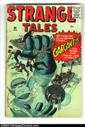 Silver Age (1956-1969):Adventure, Strange Tales #80 (Marvel, 1961) Condition: VG. Steve Ditko and Jack Kirby art. Overstreet 2003 VG 4.0 value = $36....