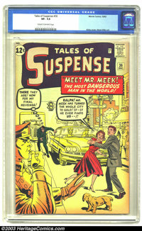 Tales of Suspense #36 (Marvel, 1962) CGC VF- 7.5 Cream to off-white pages. Jack Kirby cover, Steve Ditko art. Overstreet...