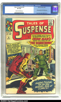 Tales of Suspense #51 (Marvel, 1964) CGC VF 8.0 Cream to off-white pages. First appearance of the Scarecrow. Jack Kirby...