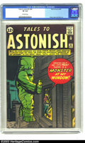 Silver Age (1956-1969):Horror, Tales to Astonish #34 (Marvel, 1962) CGC VF 8.0 Off-white pages.This wild cover is a favorite of pre-hero Marvel enthusiast...