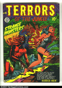 Terrors of the Jungle #18 (Star, 1952) Condition: FN+. L. B. Cole cover. Jo-Jo reprints. Overstreet 2003 FN 6.0 value =...