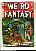Golden Age (1938-1955):Science Fiction, Weird Fantasy #8 (EC, 1951) Condition: VF-. Al Feldstein alienabduction cover, and art. Also Jack Kamen and Wally Wood art....