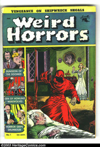 Weird Horrors #1 (St. John, 1952) Condition: VG-. George Tuska art. Overstreet 2003 VG 4.0 value = $110