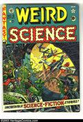 Golden Age (1938-1955):Science Fiction, Weird Science #9 (EC, 1951) Condition: FN+. Wally Wood cover (hisfirst at EC) and art. Also Jack Kamen art. Overstreet 2003...