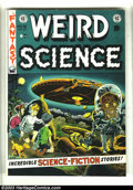 Golden Age (1938-1955):Science Fiction, Weird Science #16 (EC, 1952) Condition: VF-. Flying Saucer cover.Wally Wood cover. Wood, Al Williamson, Joe Orlando, and Ja...