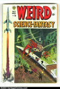 Golden Age (1938-1955):Science Fiction, Weird Science-Fantasy #23 (EC, 1954) Condition: VG. Ray Bradburystory adaptation. Wally Wood cover and art. Bernard Krigste...