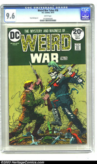 Weird War Tales #18 (DC, 1973) CGC NM+ 9.6 White pages. Tony DeZuniga art. Overstreet 2003 NM 9.4 value = $25