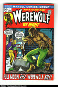 Bronze Age (1970-1979):Horror, Werewolf by Night #1 and 2 Group (Marvel, 1972) Condition: FN/VF.The first two issues of the series comprise this lot. Mike...(Total: 2 Comic Books Item)