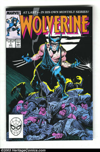 Wolverine Group (Marvel, 1988-1992) Condition: Average NM-. This lot consists of issues #1-6, 50, 52, 56, and Save The T...