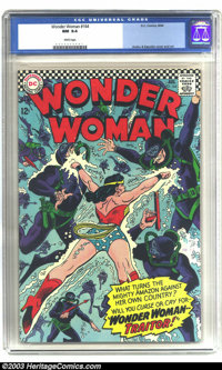 Wonder Woman #164 (DC, 1966) CGC NM 9.4 White pages. Ross Andru and Mike Esposito art. There are currently only two copi...