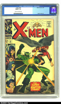 X-Men #29 (Marvel, 1967) CGC FN/VF 7.0 Cream to off-white pages. The X-Men and the Mimic vs. the Super-Adaptoid. Werner...