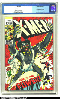 X-Men #56 (Marvel, 1969) CGC NM 9.4 Off-white to white pages. First appearance of Havok (out of costume). Versus the Liv...