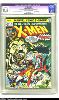 Bronze Age (1970-1979):Superhero, X-Men #94 (Marvel, 1975) Apparent VF+ 8.5 Slight (A) Off-white to white pages. New X-Men begin. Dave Cockrum art. CGC notes,...