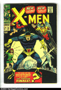 Silver Age (1956-1969):Superhero, X-Men #39 and 40 Group (Marvel, 1965) Condition: Average VG. The X-Men get new costumes in issue #39, and battle Frankenstei... (Total: 2 Comic Books Item)
