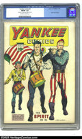 Golden Age (1938-1955):Superhero, Yankee Comics #2 (Chesler, 1941) CGC FN/VF 7.0 Off-white to white pages. Origin Johnny Rebel. Major Victory appearance. Barr...