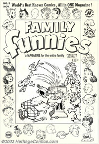 Al Avison (attributed) - Original Cover Art for Family Funnies #3 (Harvey, 1950). The world's best known comics, all in...