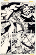 Original Comic Art:Panel Pages, John Byrne and Bob Layton - Original Art for Incredible Hulk Annual #7, page 22 (Marvel, 1978). An absolutely spectacular pa...