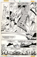 Original Comic Art:Panel Pages, John Byrne and Bob Layton - Original Art for Incredible Hulk Annual #7, page 23 (Marvel, 1978). The Hulk snags a ride on the...