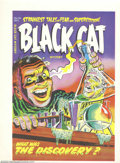 Golden Age (1938-1955):Superhero, Cover Proof/Color Separations for Black Cat Mystery #46, Artwork by Lee Elias (Harvey, 1953). There's nothing like having a ...